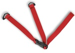 Consumer Child Restraint Safety Strap With Heavy Weight Polypro Webbing