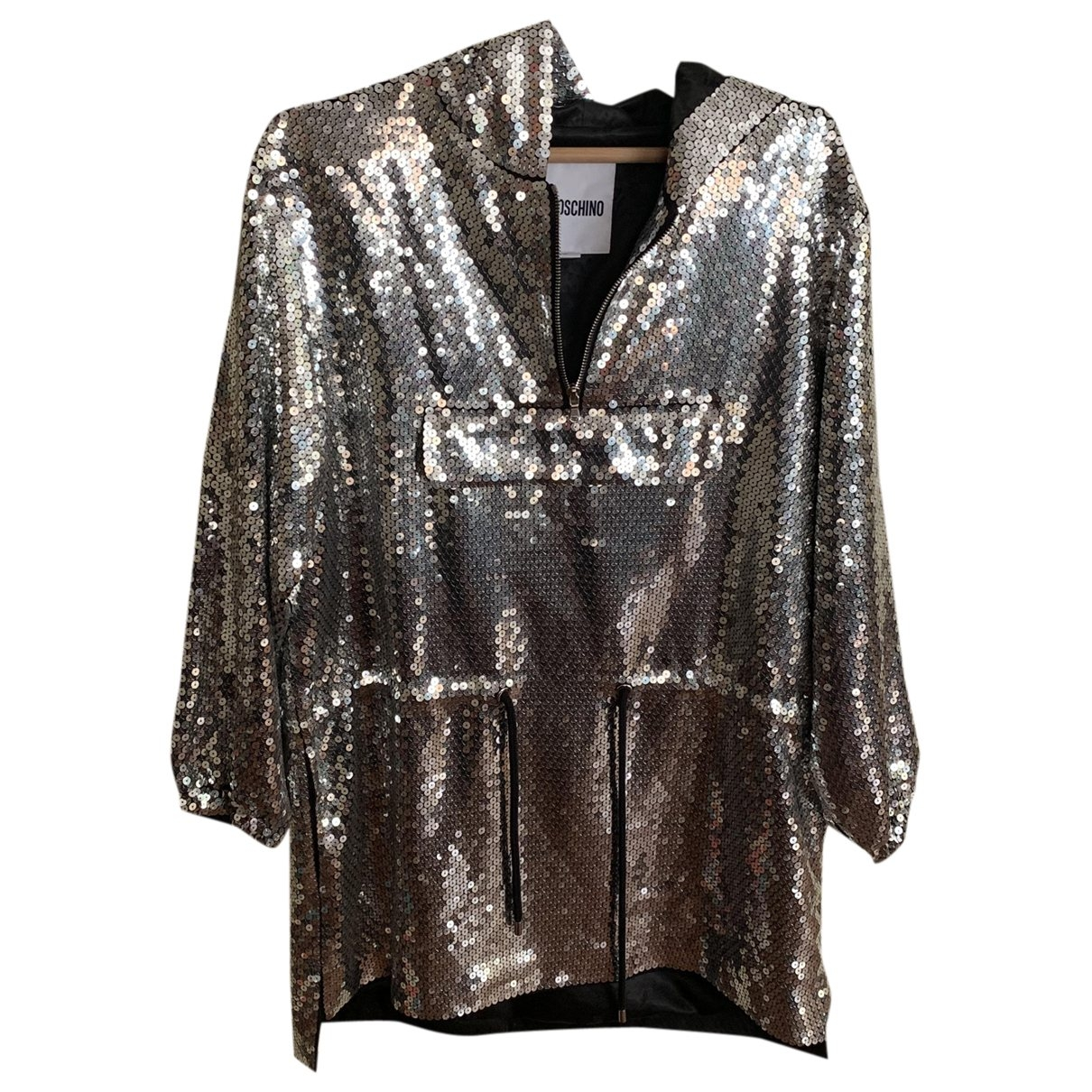 Moschino For H&m \N Metallic Glitter jacket for Women 36 FR