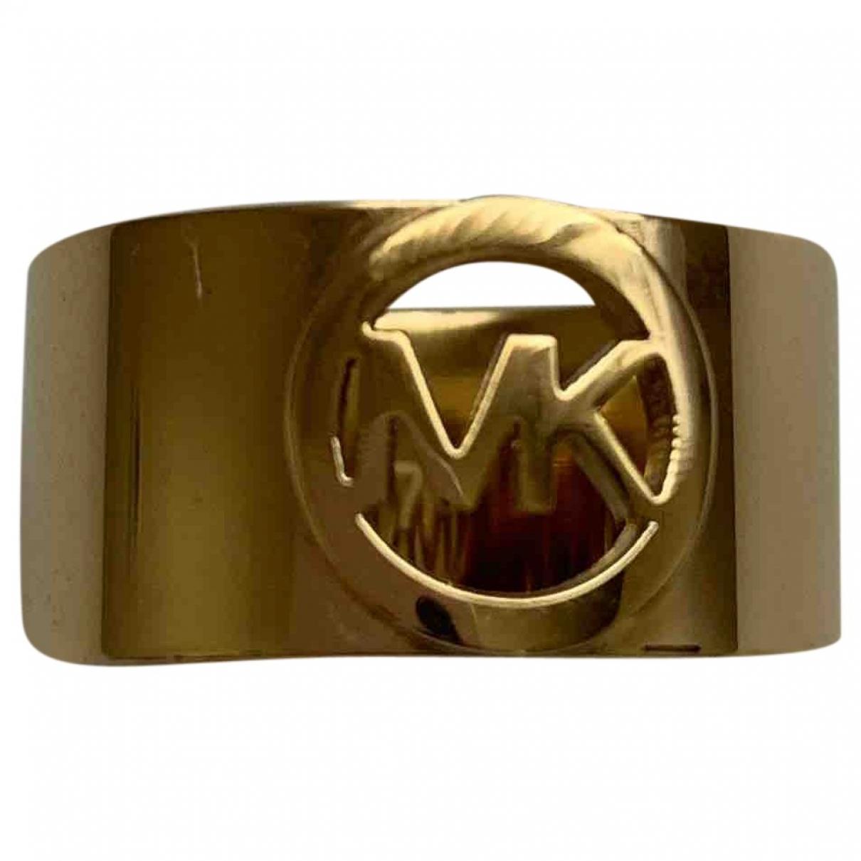 Michael Kors \N Gold Steel ring for Women \N