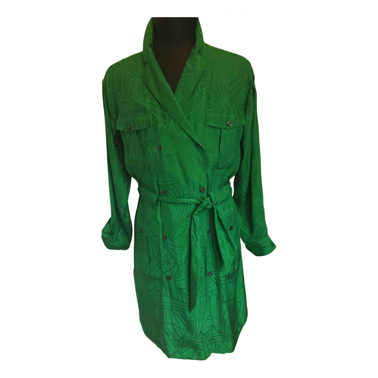 Soeur - Robe   pour femme en soie - vert