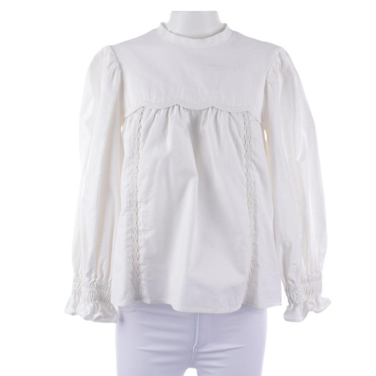 Isabel Marant \N White Cotton  top for Women 34 FR