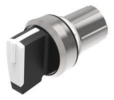 EAO Series 45 Double Pole Double Throw (DPDT) Latching Actuator, IP20, IP40, IP66, IP67, IP69K, 22.3 (Dia.)mm, Panel