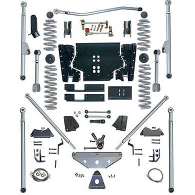 Rubicon Express 5.5 Inch Extreme-Duty Long Arm Lift Kit with Rear Tri-Link - No Shocks - RE7515