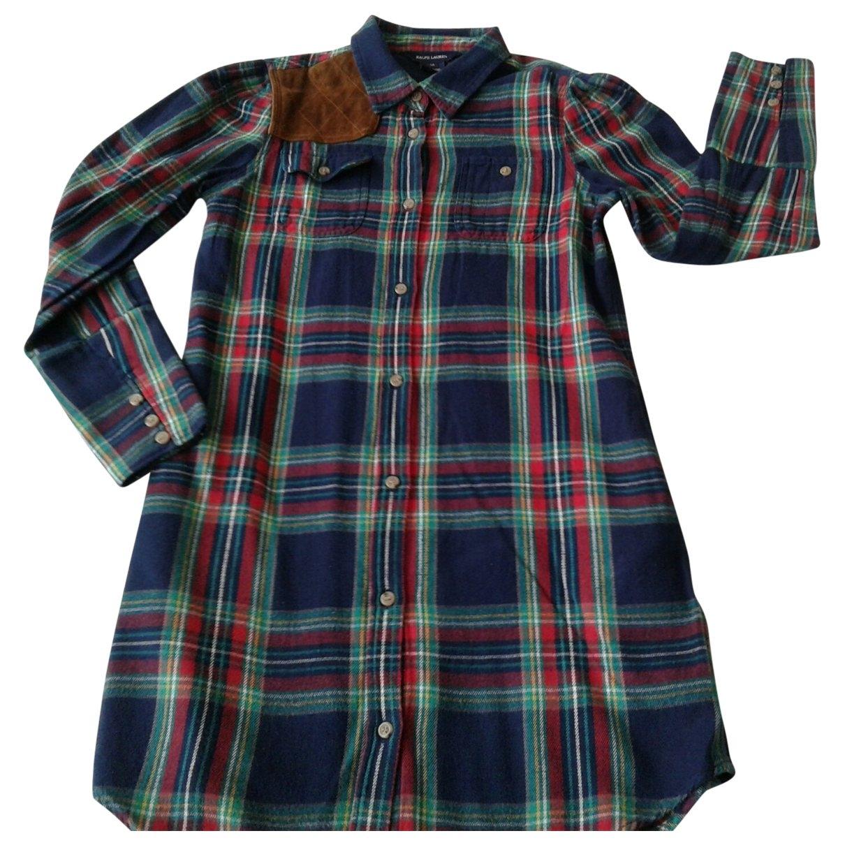 Ralph Lauren - Robe    pour enfant en coton - multicolore