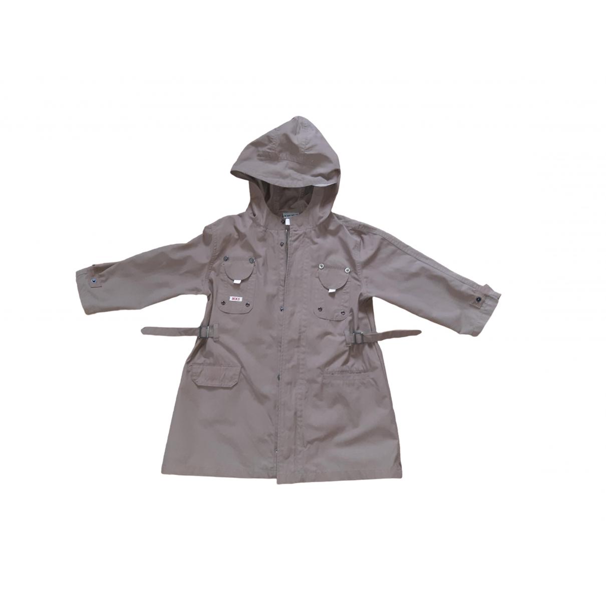 Ikks - Blousons.Manteaux   pour enfant en coton - marron