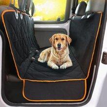 Gesteppter Autositzbezug fuer Hunde