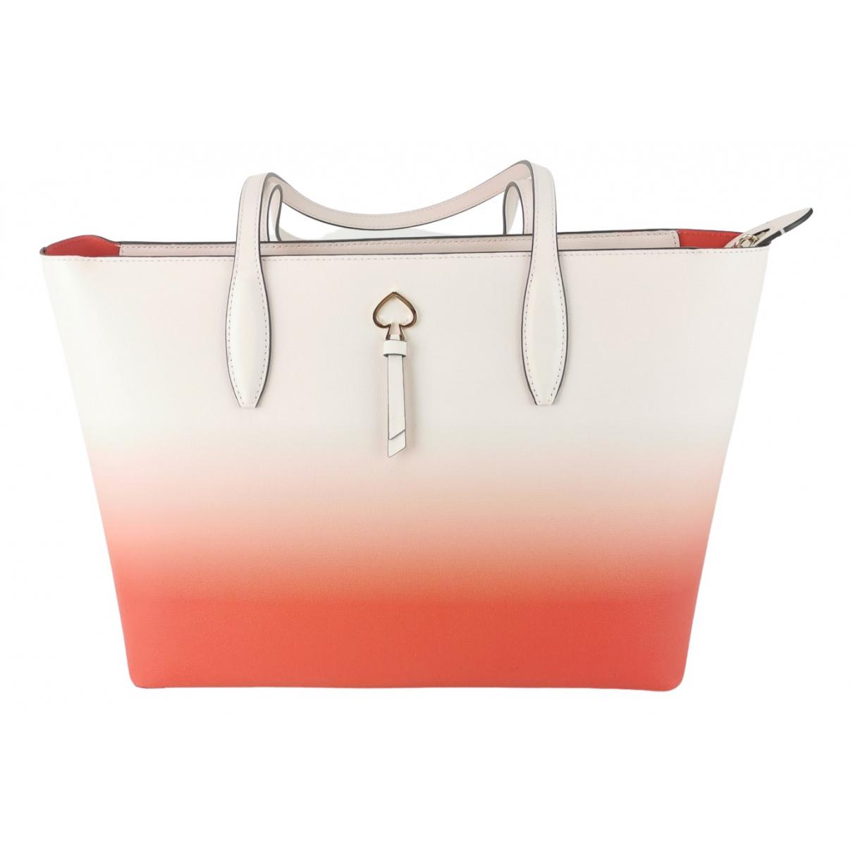 Kate Spade \N Handtasche in  Rot Leder