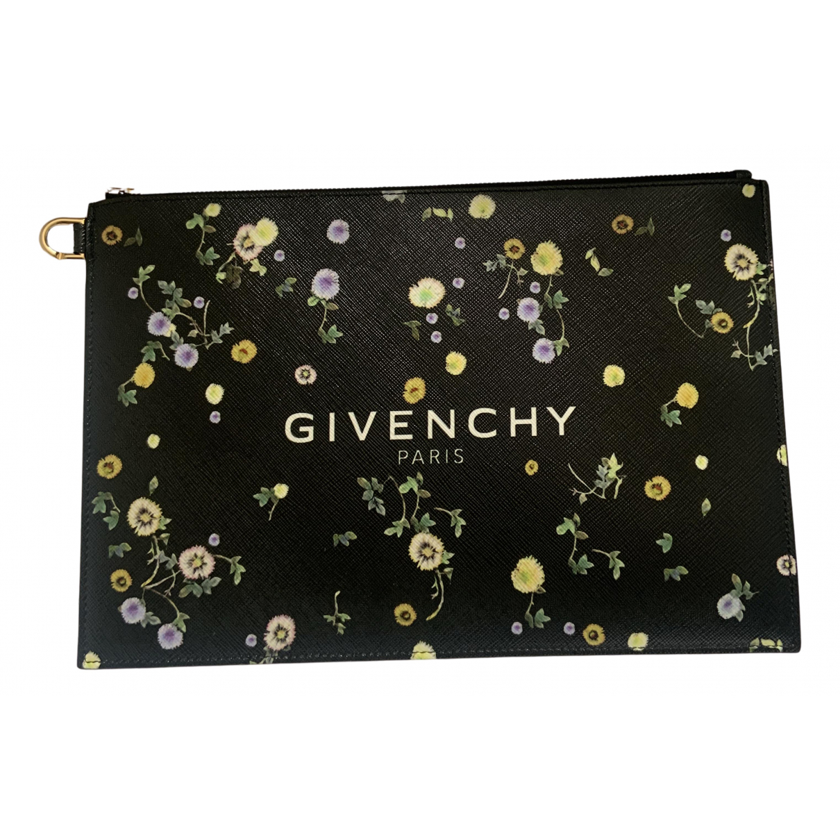 Givenchy \N Clutch in  Schwarz Polyester