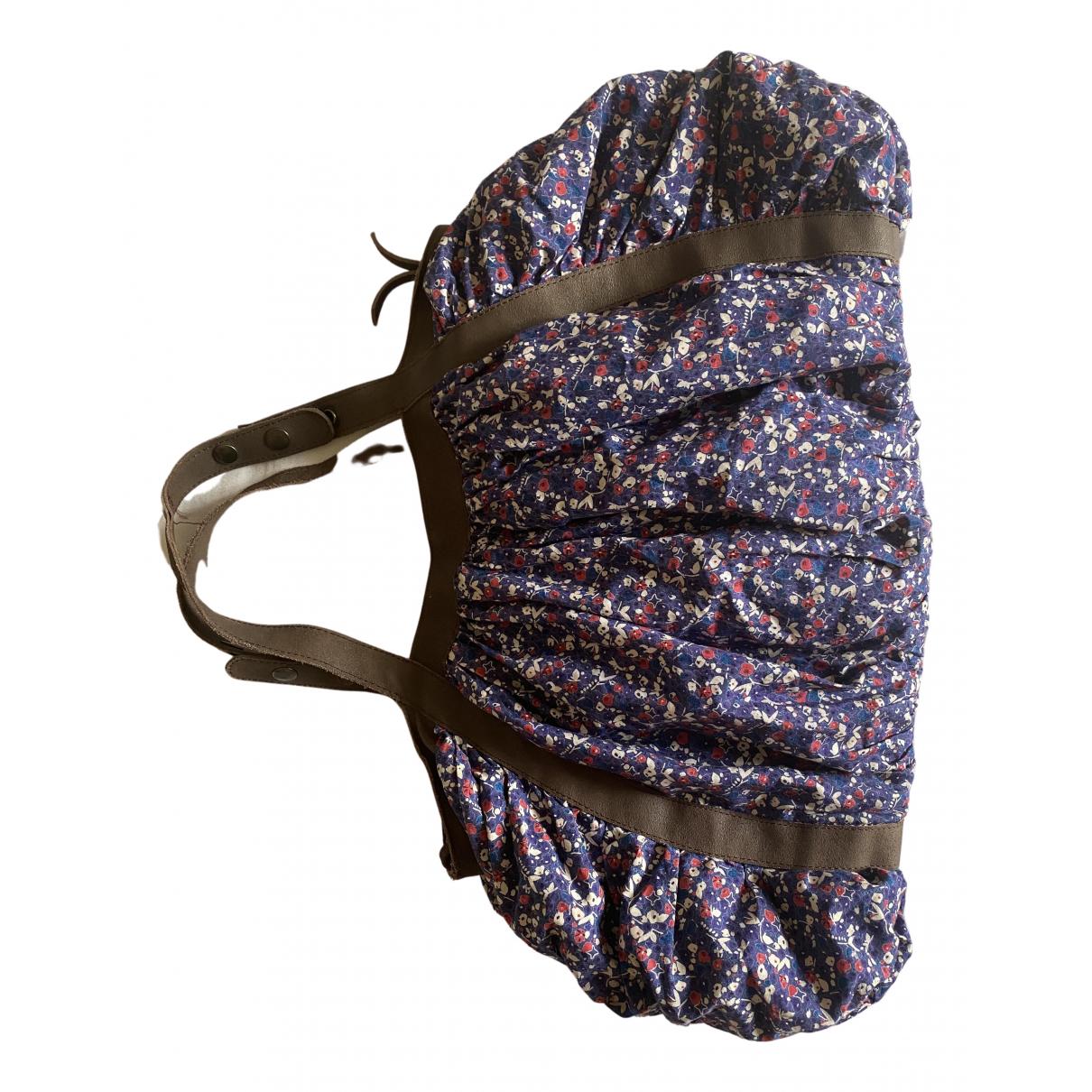 Sessun \N Handtasche in  Bunt Baumwolle