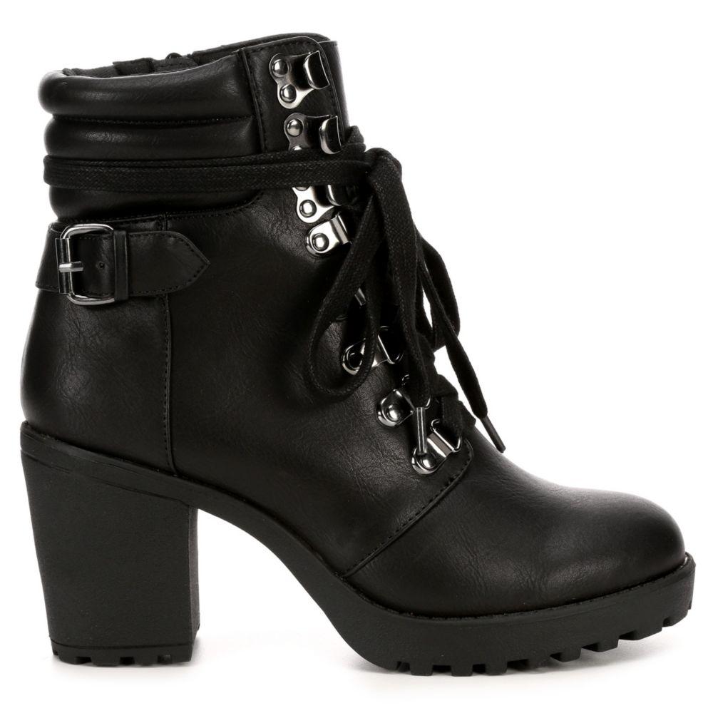 Mia Womens Annamaria Combat Boot