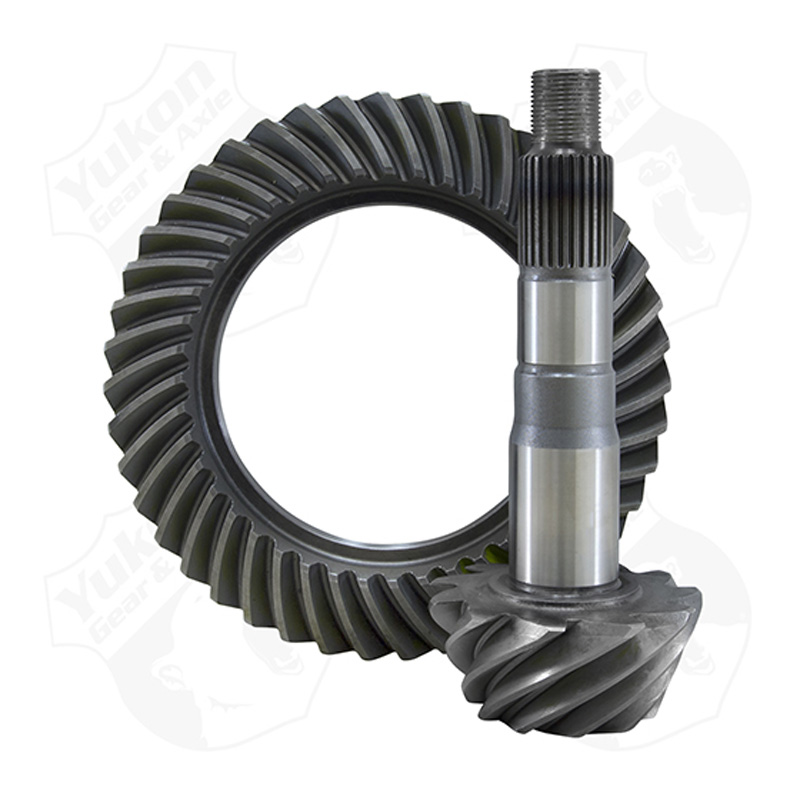 High Performance Yukon Ring & Pinion Gear Set Toyota Clamshell Front Axle 4.30 Ratio Yukon Gear & Axle YG TLCF-430R-CS