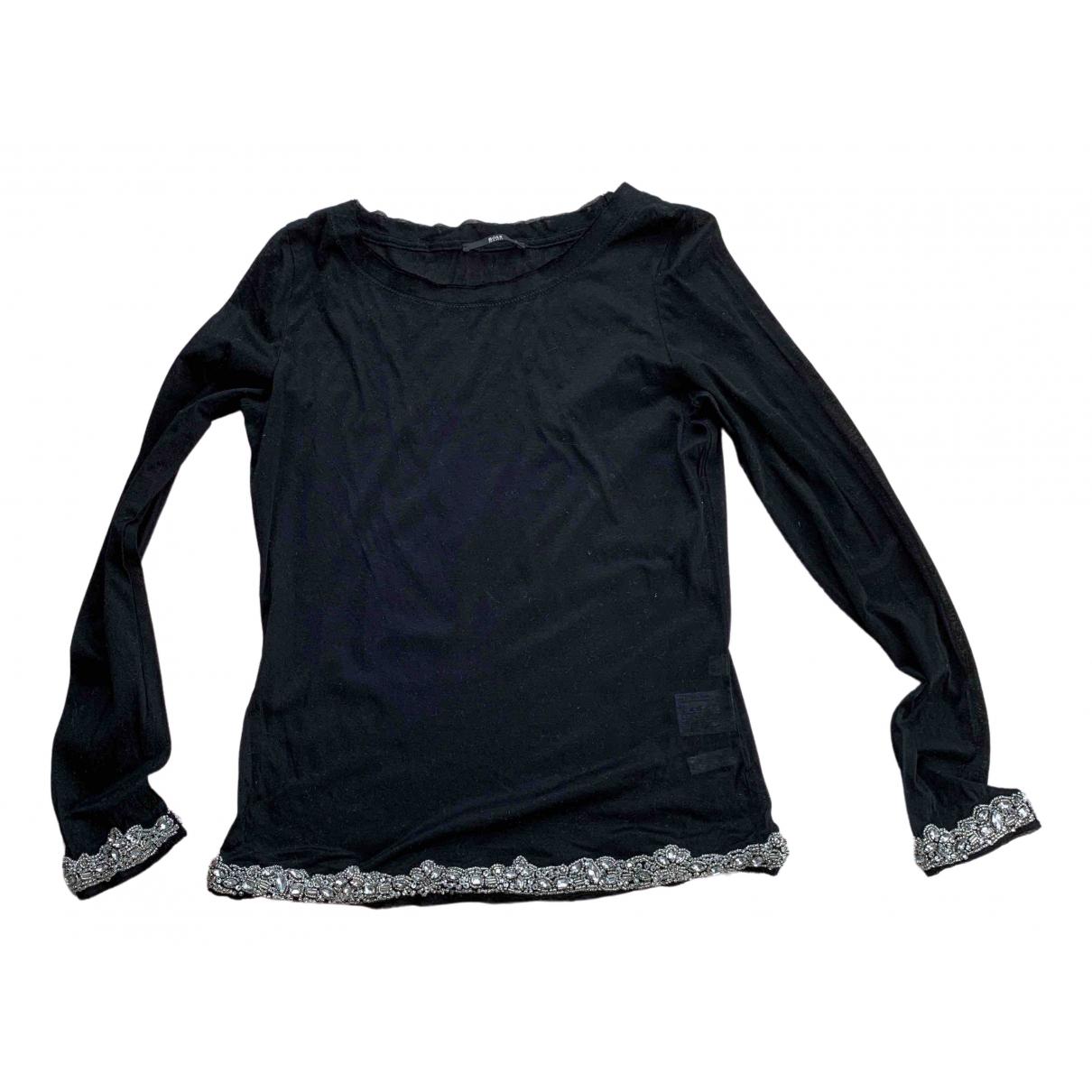 Boss \N Black Cotton Knitwear for Women S International