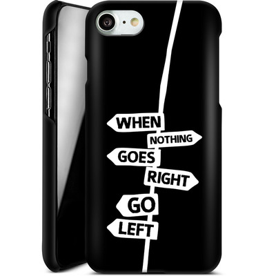 Apple iPhone 7 Smartphone Huelle - When Nothing Goes Right von We Make The Cake