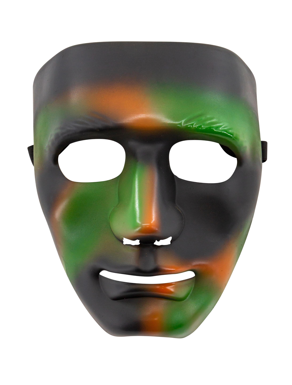 Kostuemzubehor Maske Camouflage