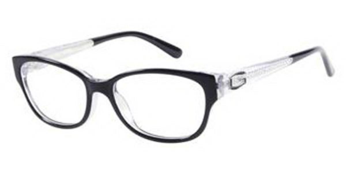 Guess GU 2372 B84 Women's Glasses Clear Size 52 - Free Lenses - HSA/FSA Insurance - Blue Light Block Available