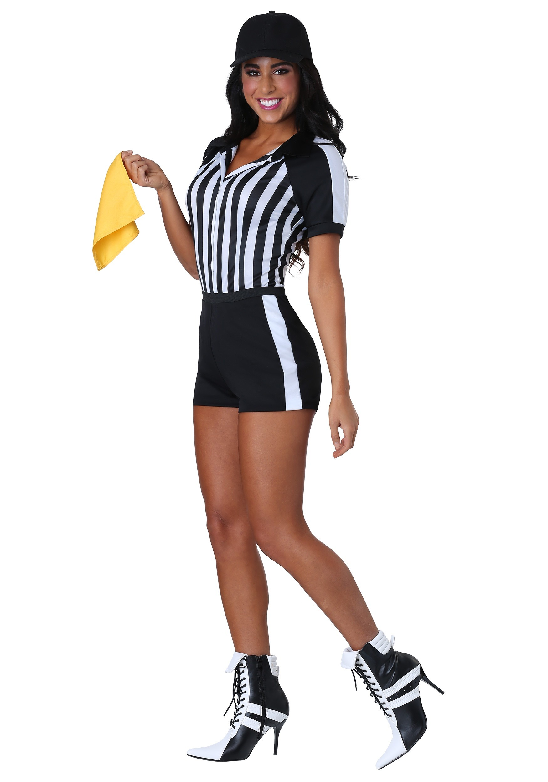 Racy Referee Costume for Women