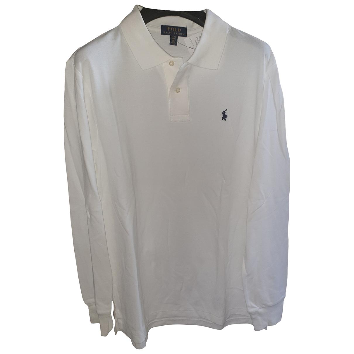 Ralph Lauren \N Poloshirts in  Weiss Baumwolle