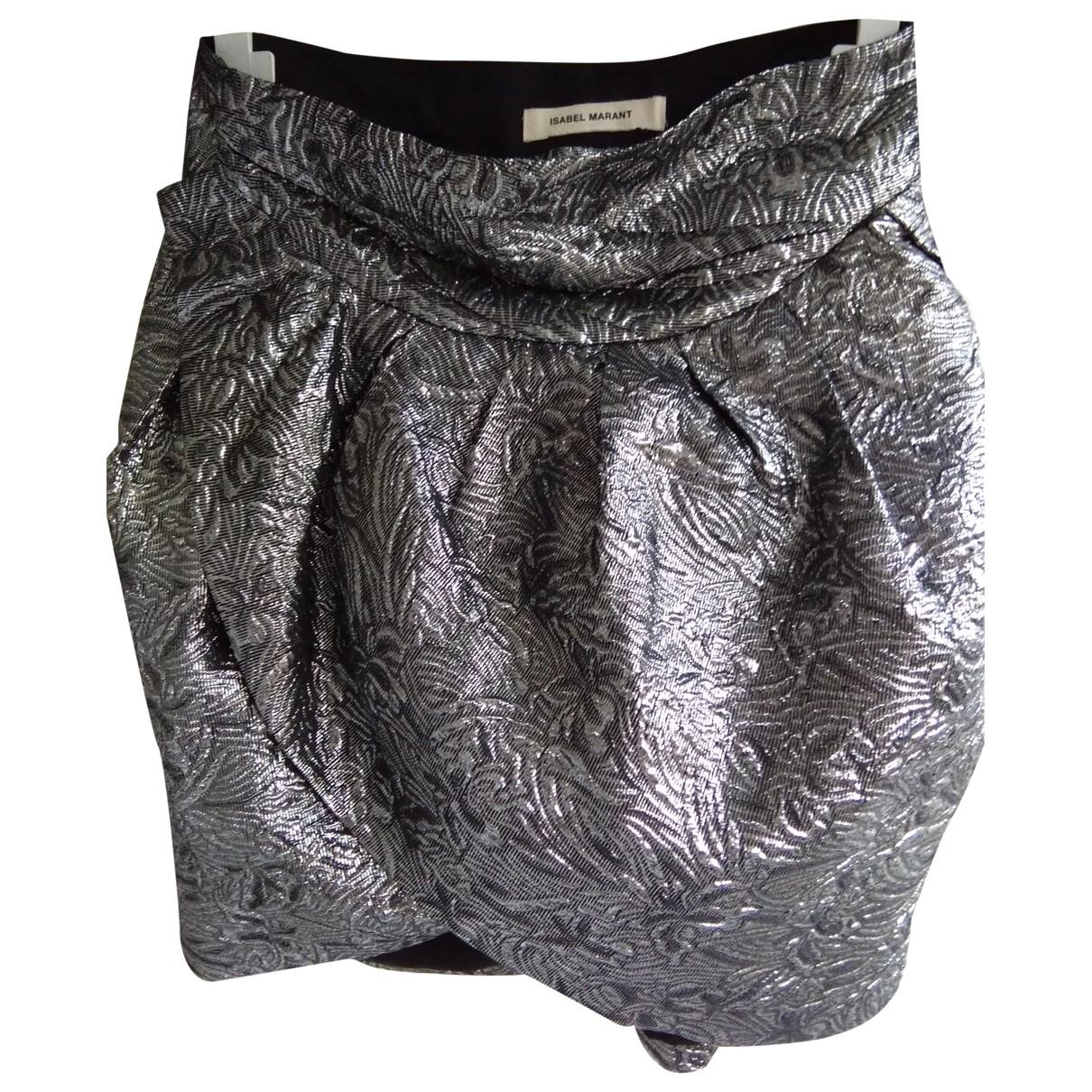 Isabel Marant \N Rocke in  Silber Baumwolle