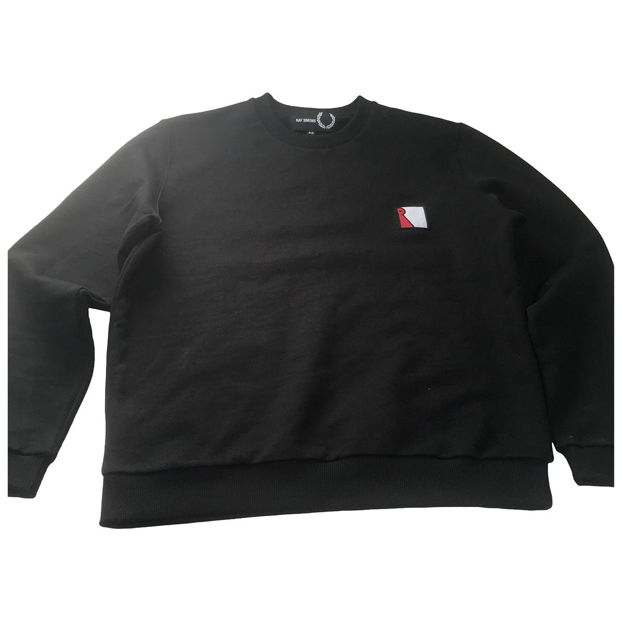 Raf Simons \N Pullover.Westen.Sweatshirts  in  Schwarz Baumwolle