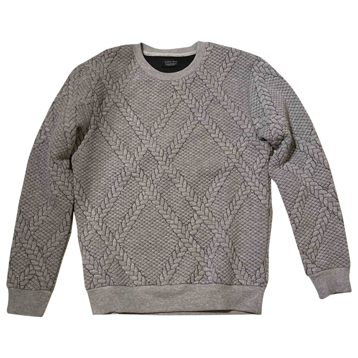 Zara \N Grey Knitwear & Sweatshirts for Men M International