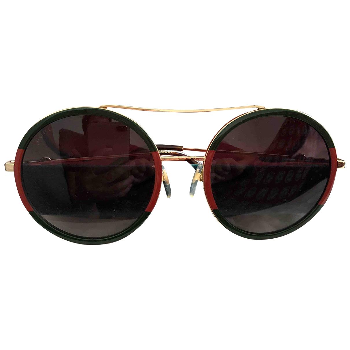 Gucci \N Multicolour Metal Sunglasses for Women \N