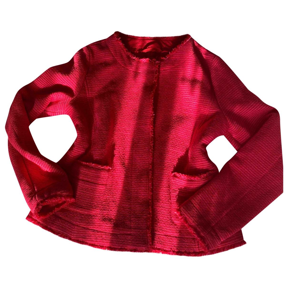 Max Mara - Veste   pour femme en coton - rose