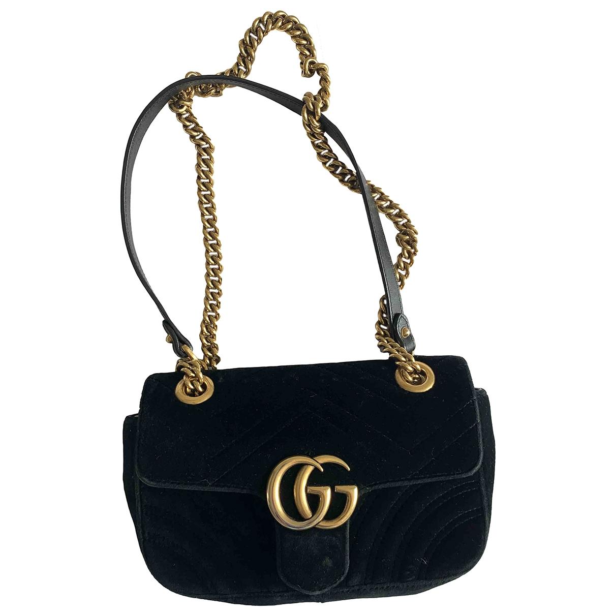 Bolso  Marmont de Terciopelo Gucci