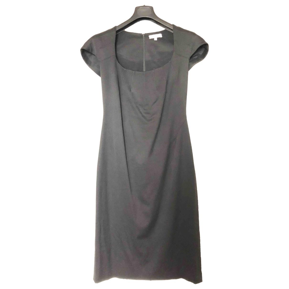 Zac Posen - Robe   pour femme en coton - elasthane - noir