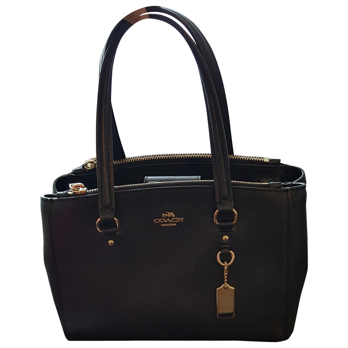 Coach \N Black Leather handbag for Women \N