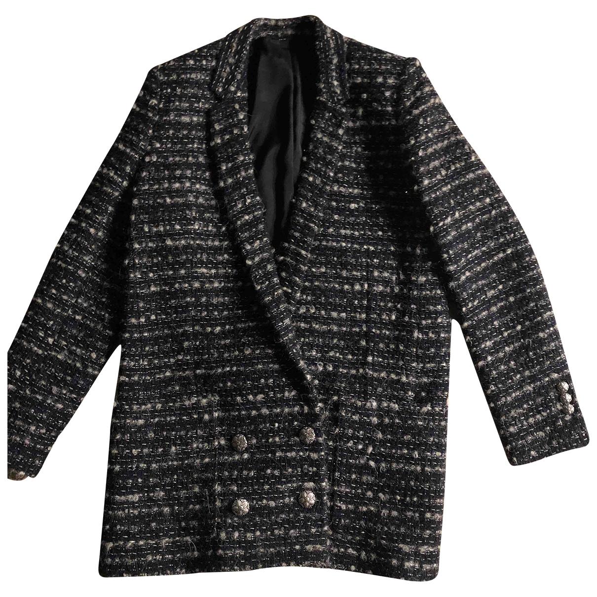 The Kooples - Veste   pour femme en laine - gris