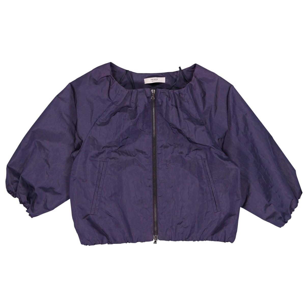 Prada \N Purple Silk jacket for Women 42 IT
