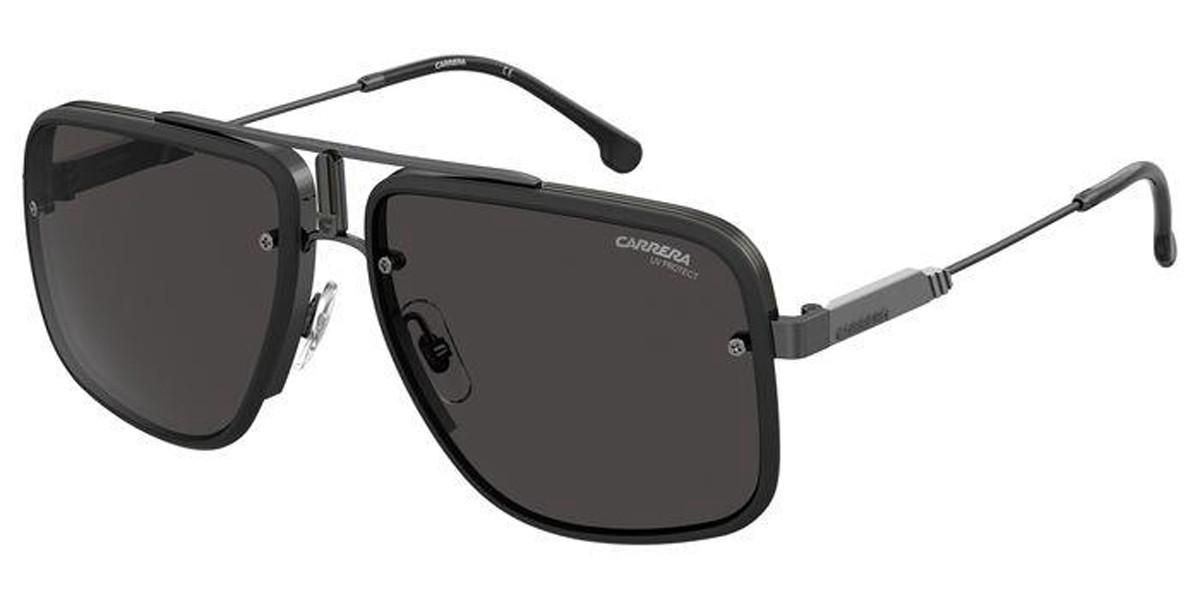 Carrera CA GLORY II 003/2K Men's Sunglasses Black Size 59