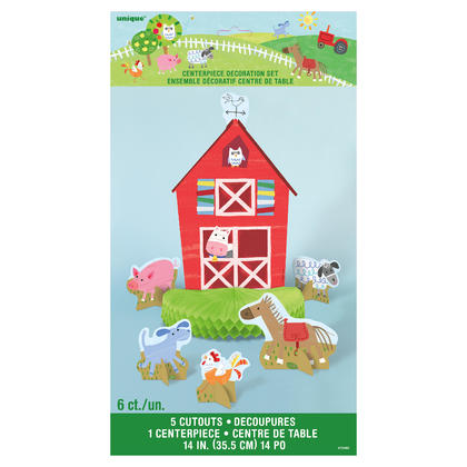 Farm Party Centerpiece Decorations, 6ct Pour la fête d'anniversaire