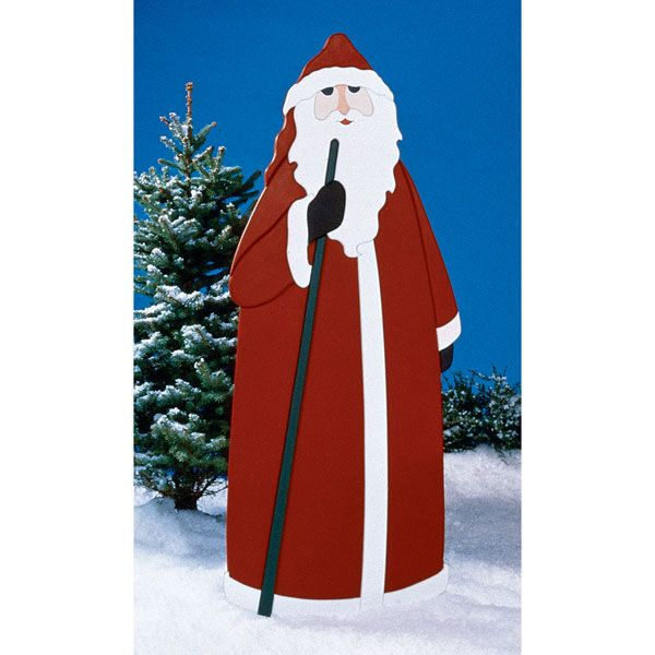 Woodworking Project Paper Plan to Build Father Christmas