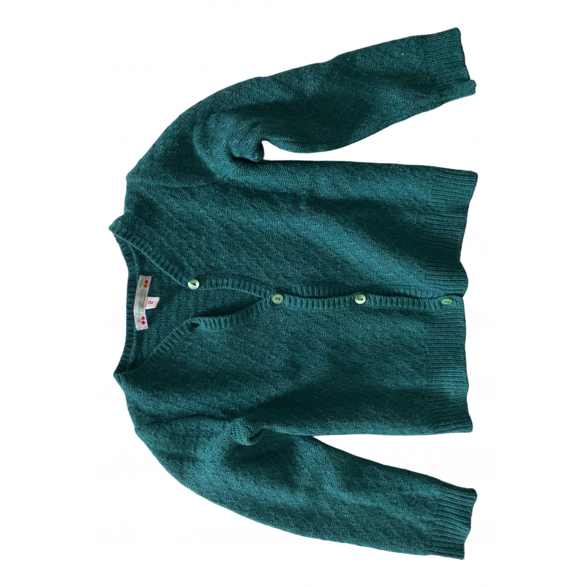 Bonpoint N Green Cashmere Knitwear for Kids 2 years - up to 86cm FR