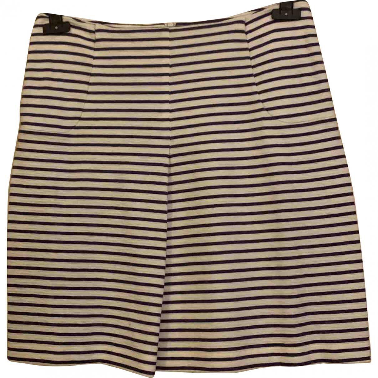 Cacharel \N Ecru Cotton skirt for Women 42 IT
