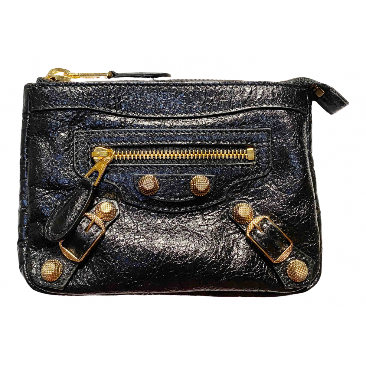 Balenciaga \N Black Leather Purses, wallet & cases for Women \N