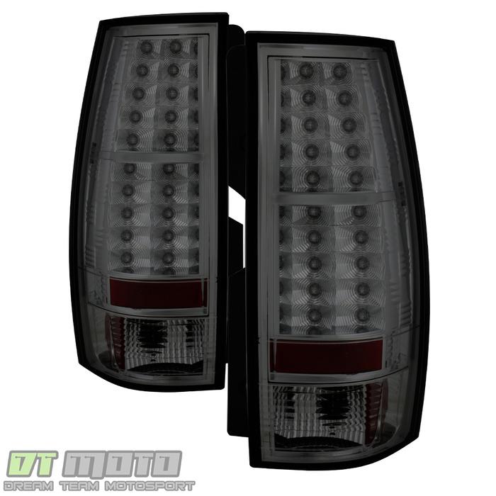 Spyder Auto ALT-YD-CSUB07-LED-SM Smoke LED Taillights Chevrolet Tahoe 07-14