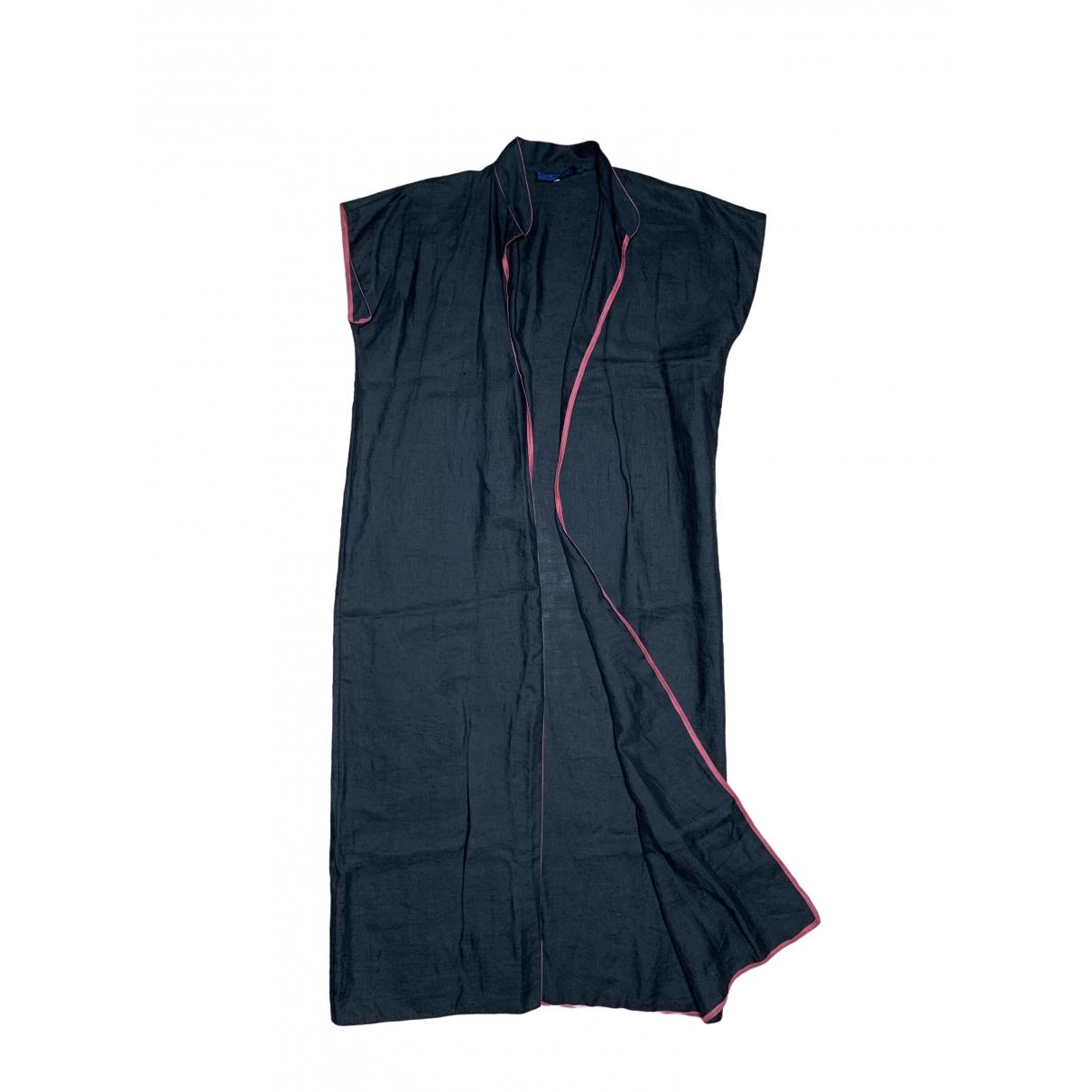 Non Signé / Unsigned \N Black Linen Knitwear for Women 42 IT