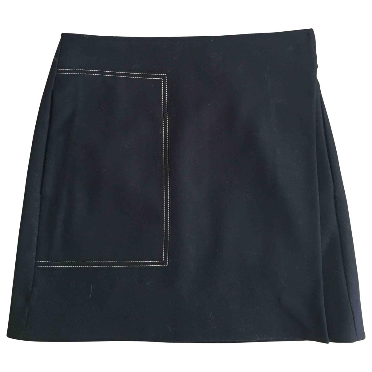 Mini falda de Lana Cos