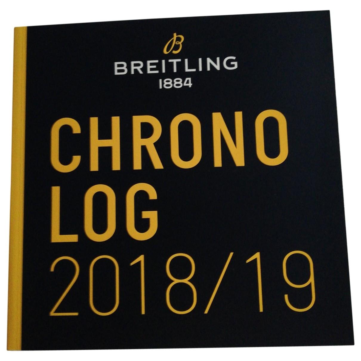 Breitling - Photographie   pour lifestyle en autre - bleu