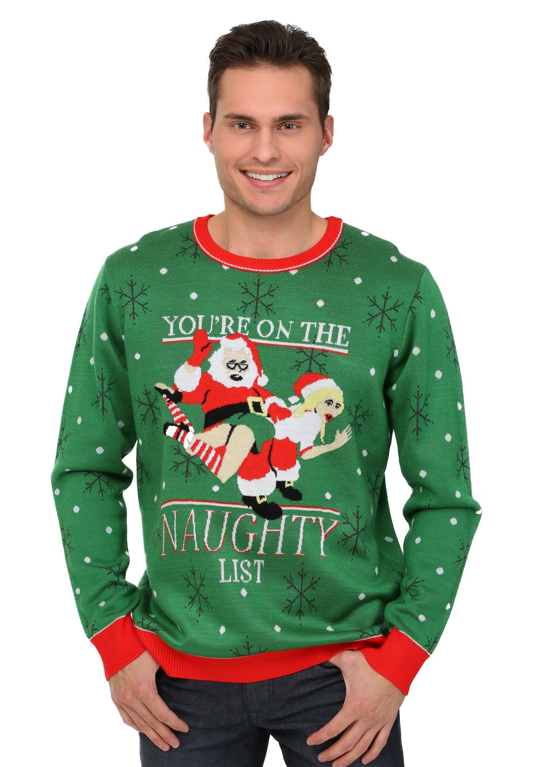 Naughty List Ugly Christmas Sweater
