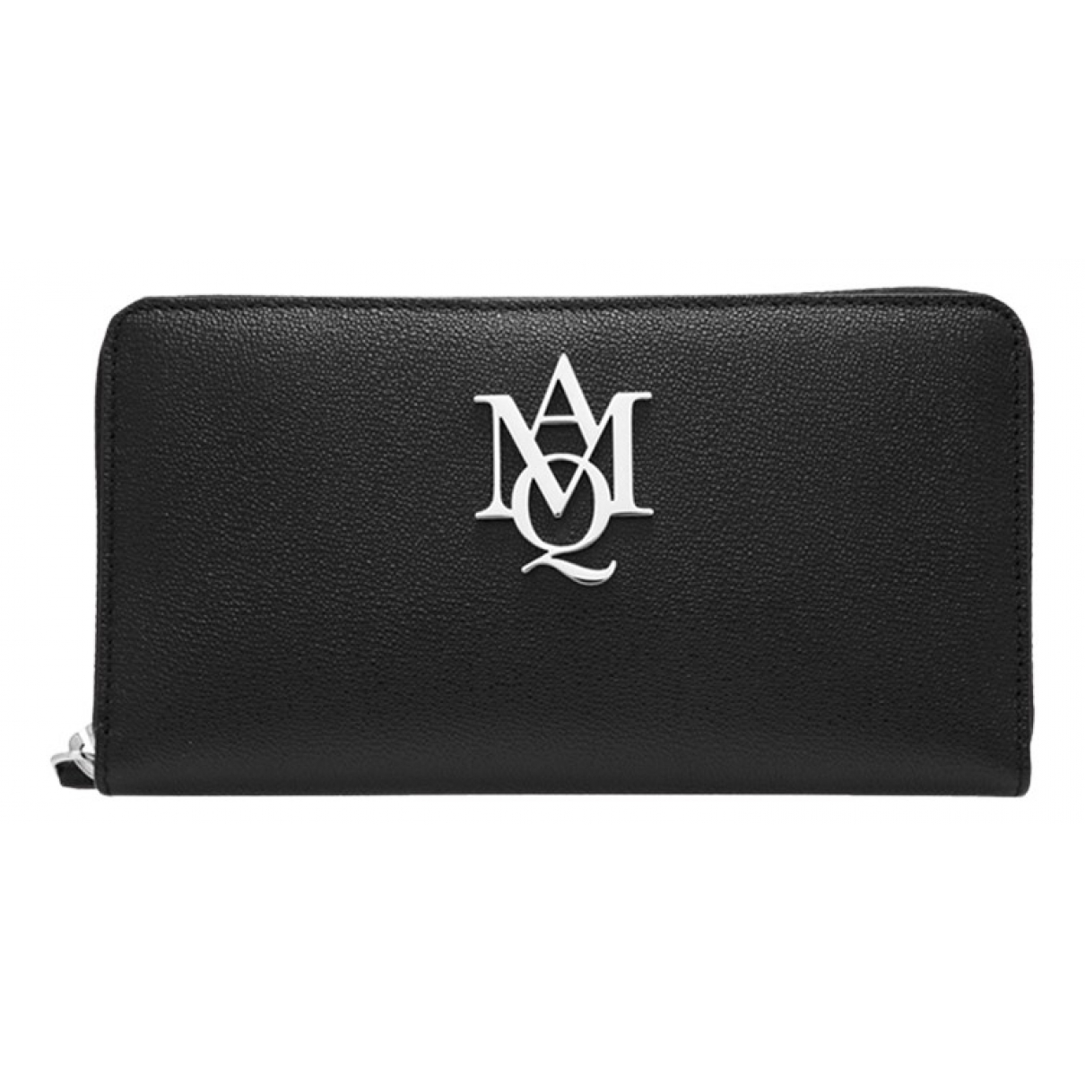 Alexander Mcqueen N Black Leather wallet for Women N
