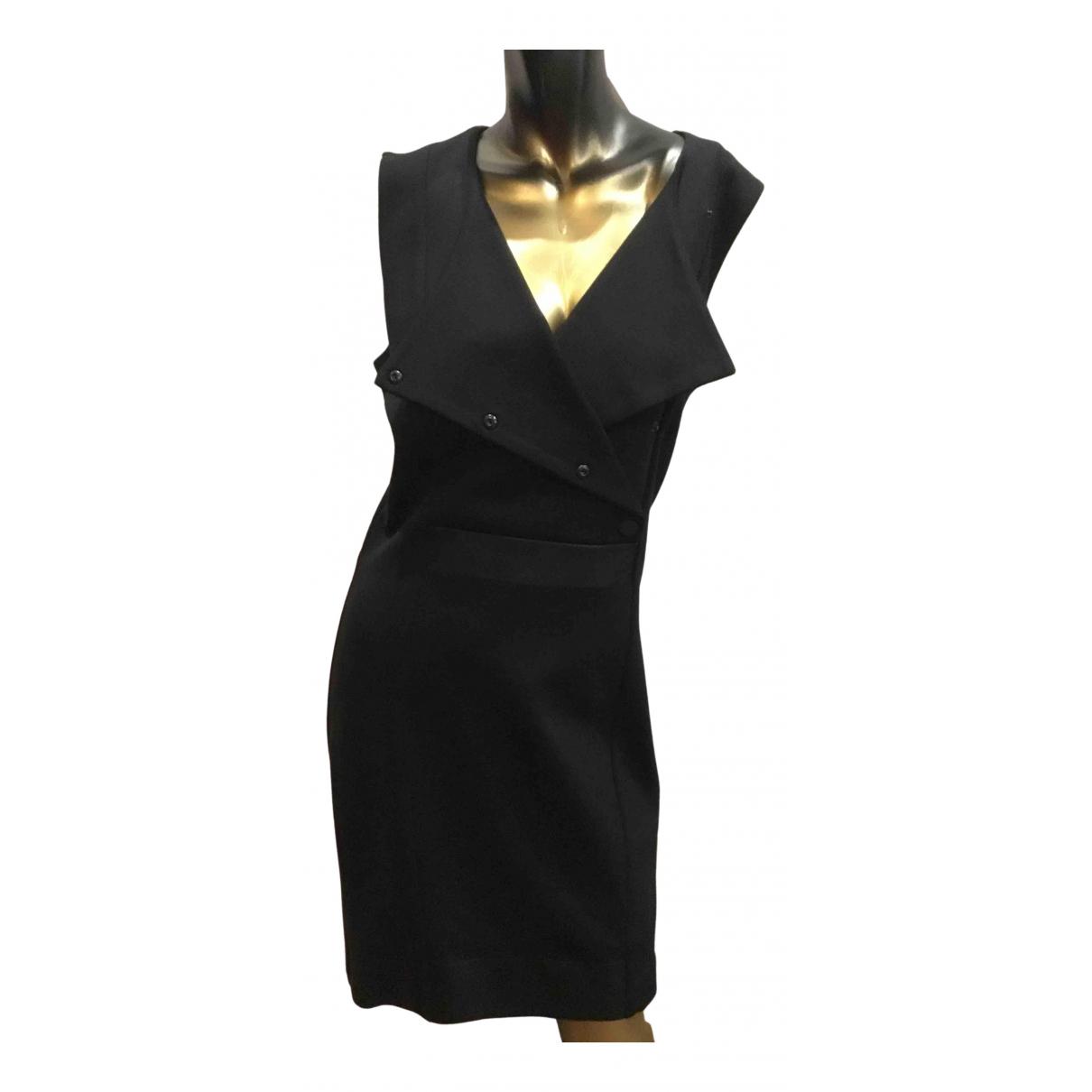 Cop Copine - Robe   pour femme en coton - elasthane - noir
