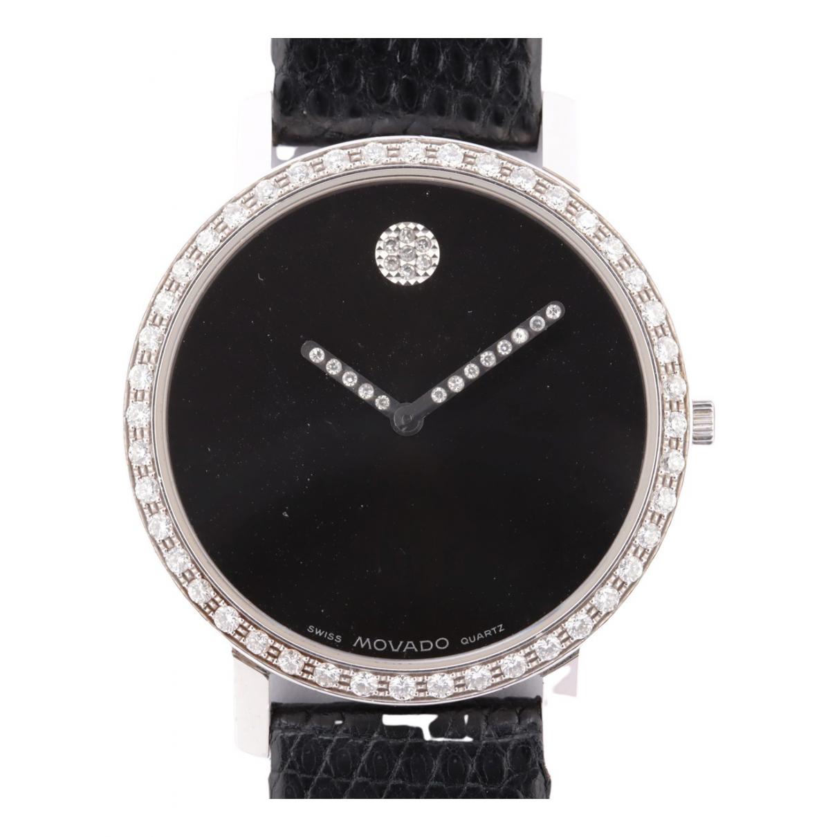 Movado \N Uhr Schwarz