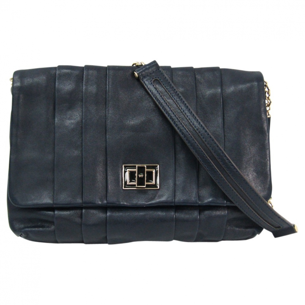 Anya Hindmarch \N Navy Leather handbag for Women \N