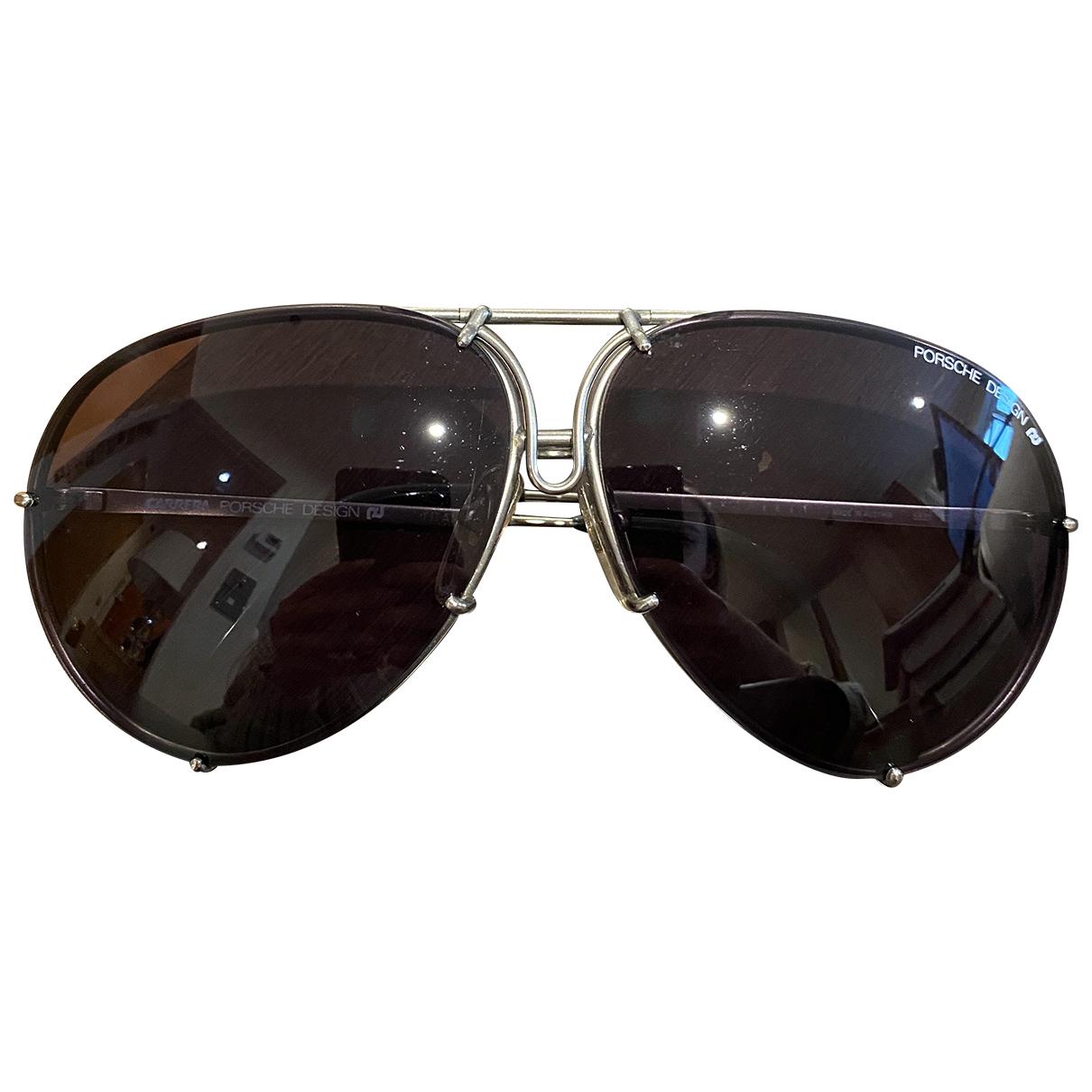 Porsche Design N Black Metal Sunglasses for Women N