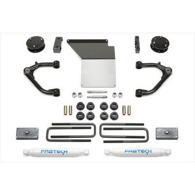 Fabtech 4 Inch Uniball UCA Lift Kit with Rear Performance Shocks - K1071