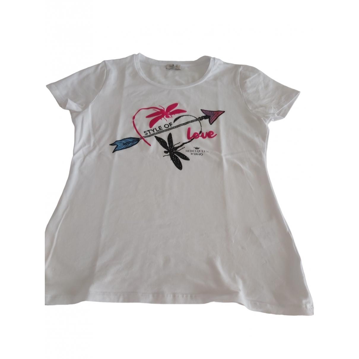 Liu.jo \N White Cotton  top for Women L International