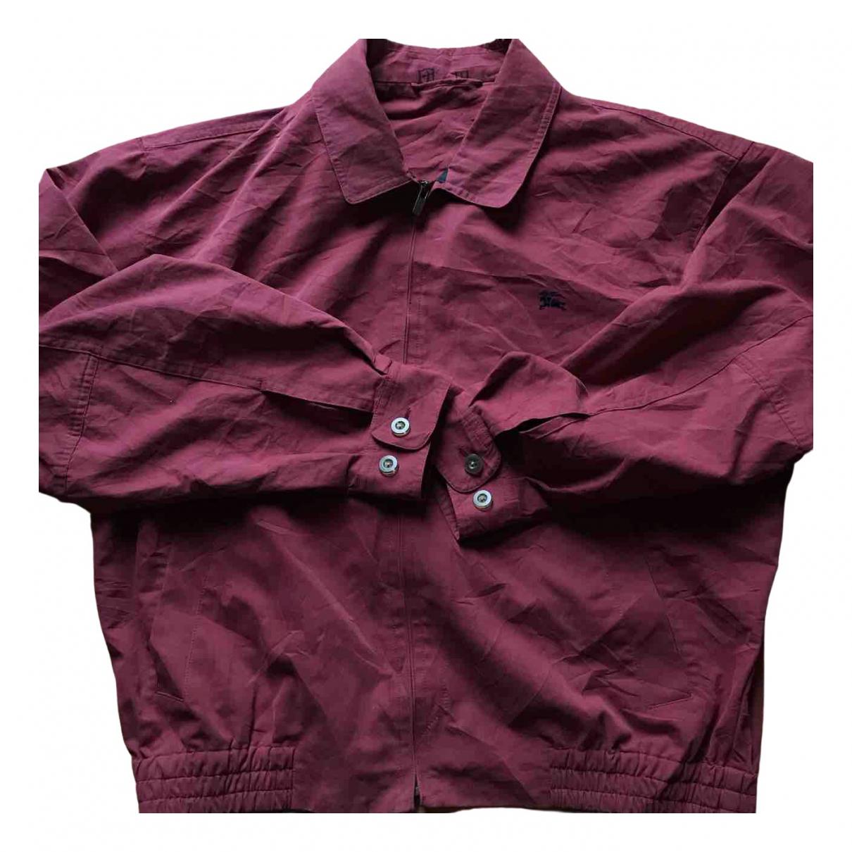 Burberry \N Burgundy Cotton jacket  for Men M International